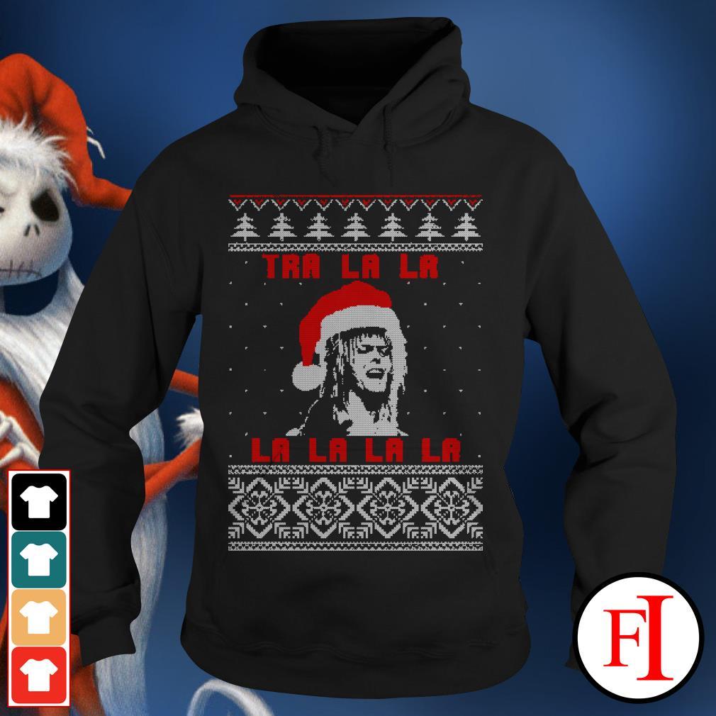Official Jareth Labyrinth Tra La La La ugly Christmas Hoodie