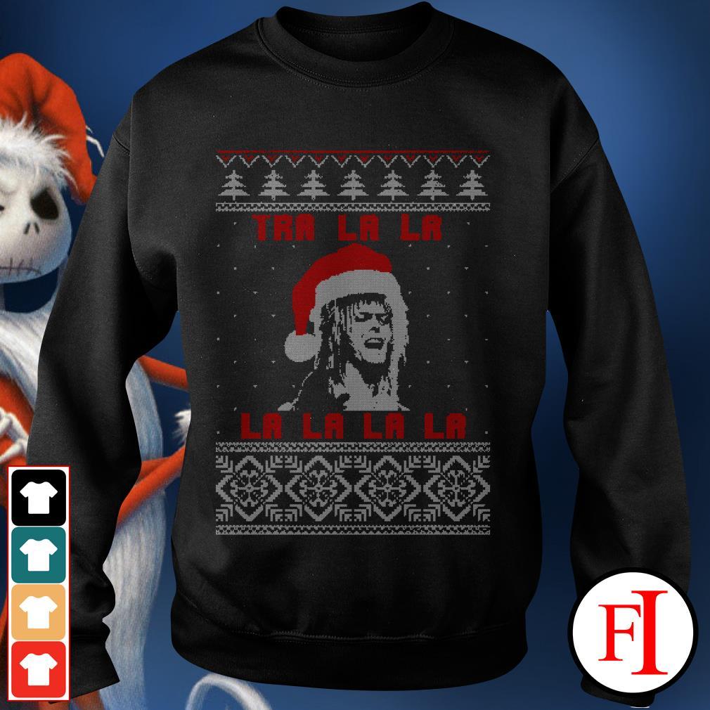Official Jareth Labyrinth Tra La La La ugly Christmas Sweater