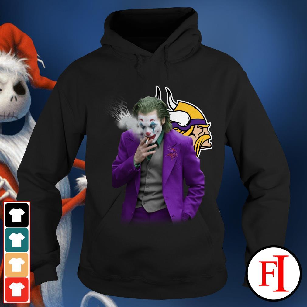 Official Joker Joaquin Phoenix Minnesota Vikings Hoodie