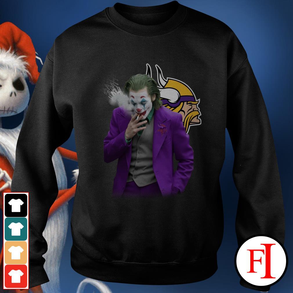 Official Joker Joaquin Phoenix Minnesota Vikings Sweater