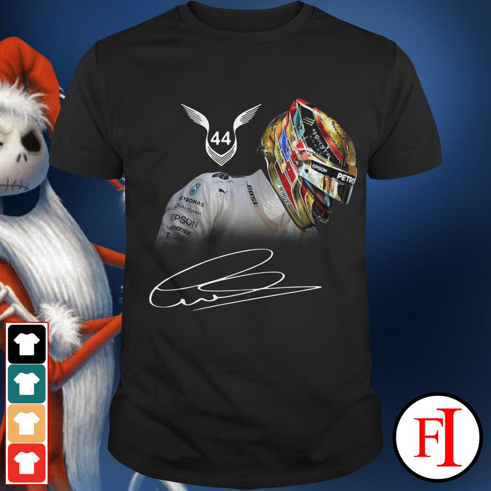 Official Lewis Hamilton 44 signature Shirt