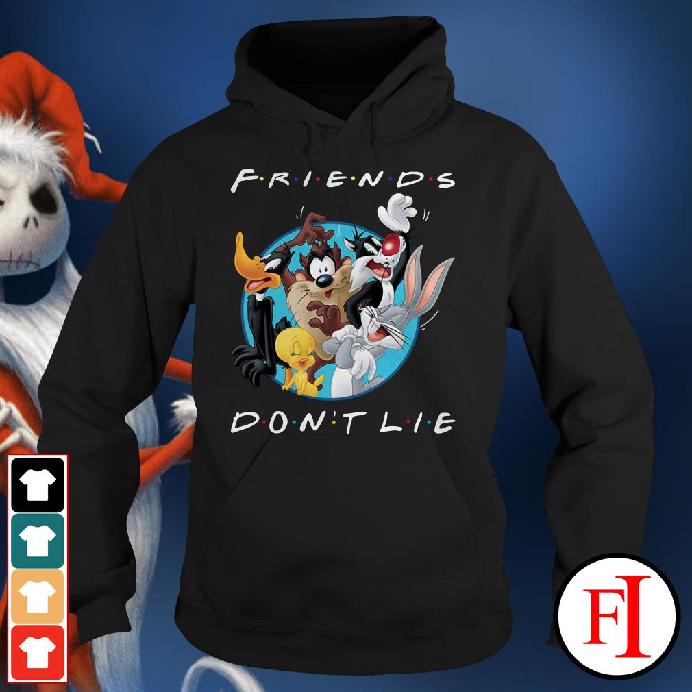 Official Looney tunes friends don't lie Hoodie