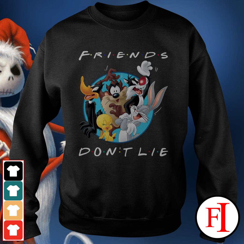 Official Looney tunes friends don't lie Sweater