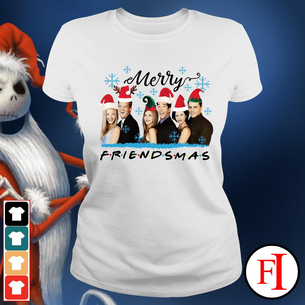 Official Merry Friendsmas Ladies Tee