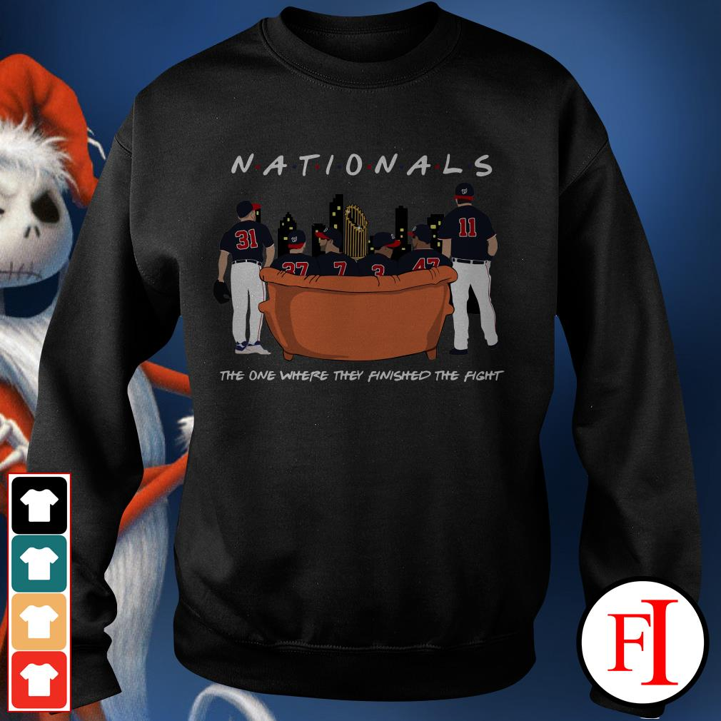 Official Nationals the on where they finished the fight Sweater