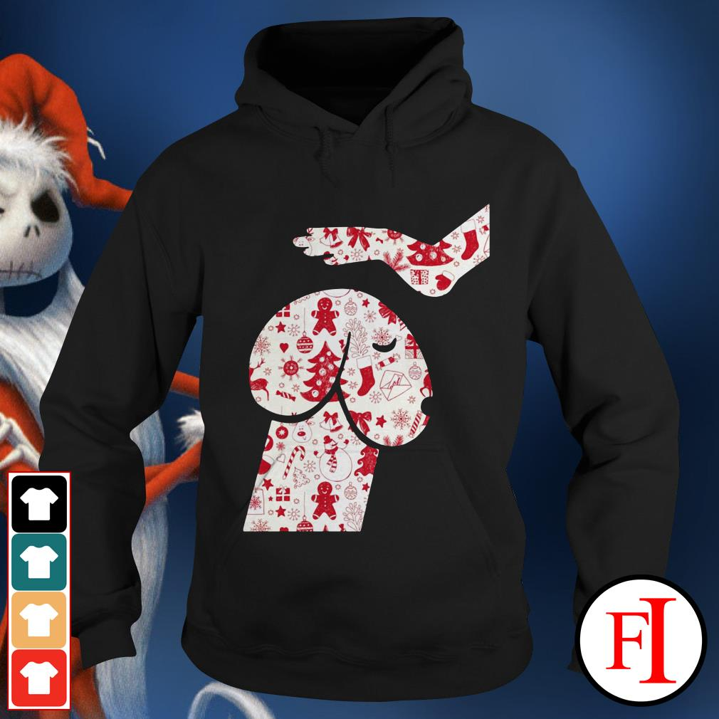 Official Penis dog Christmas Hoodie