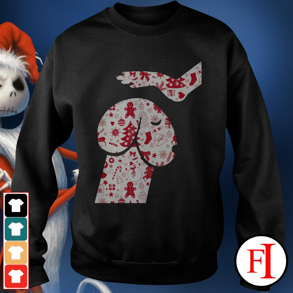 Official Penis dog Christmas Sweater