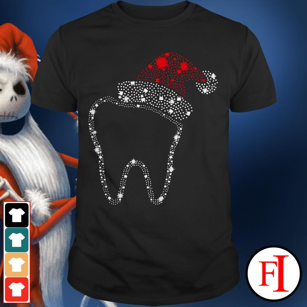 Official Teeth bright rhinestone Christmas Shirt