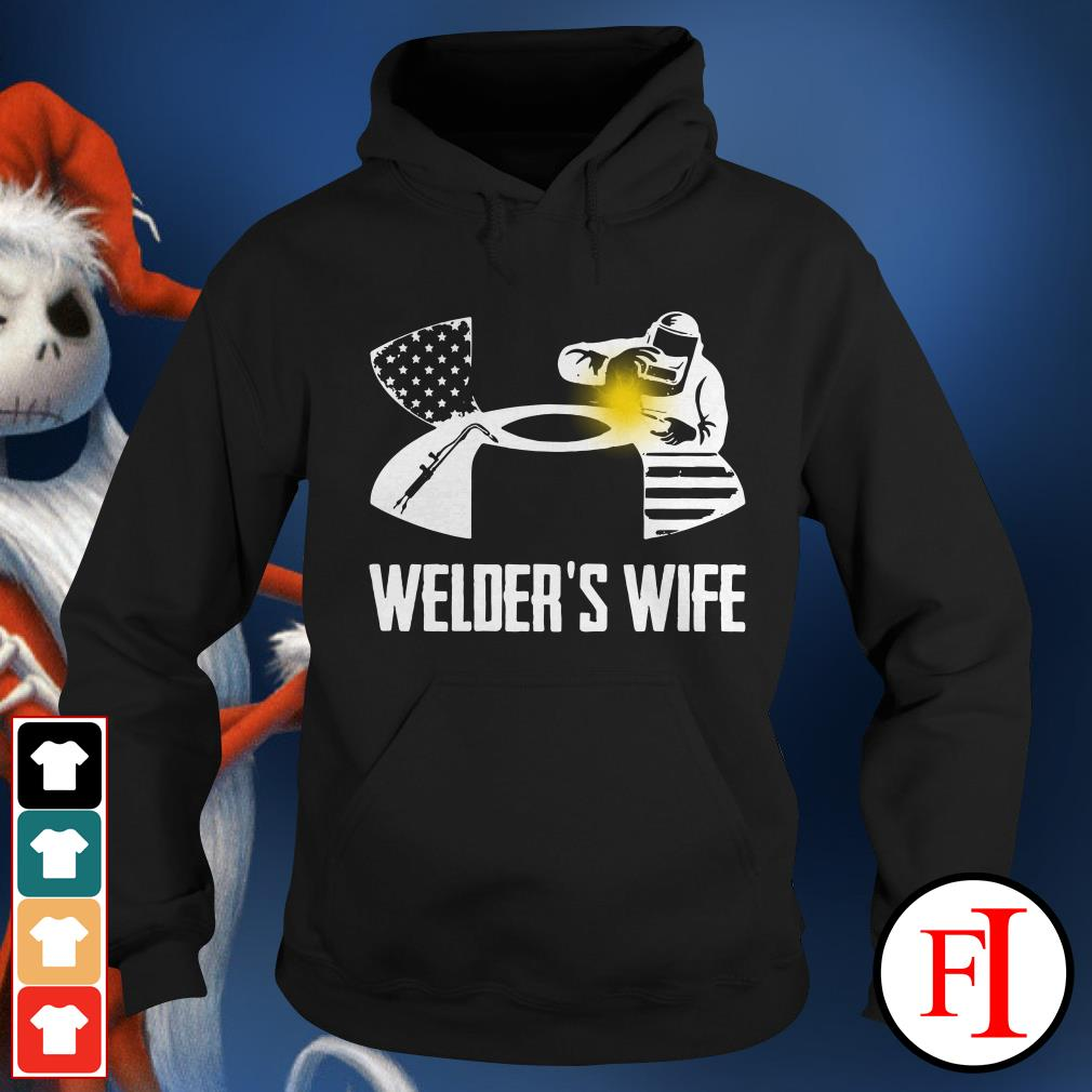 Official Under Armour welder's wife Hoodie