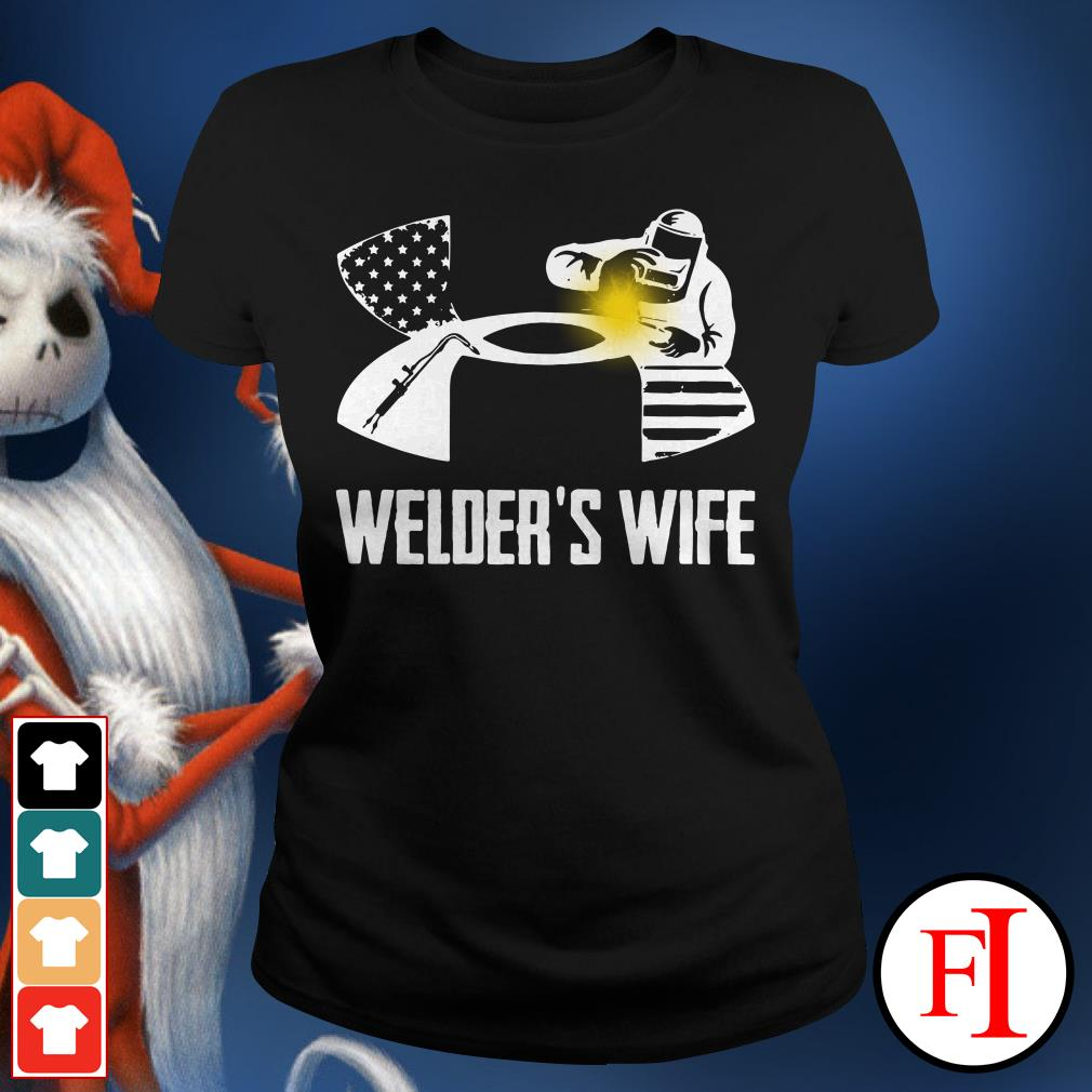 Official Under Armour welder's wife Ladies Tee
