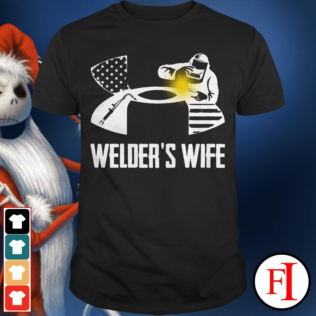 Official Under Armour welder's wife Shirt