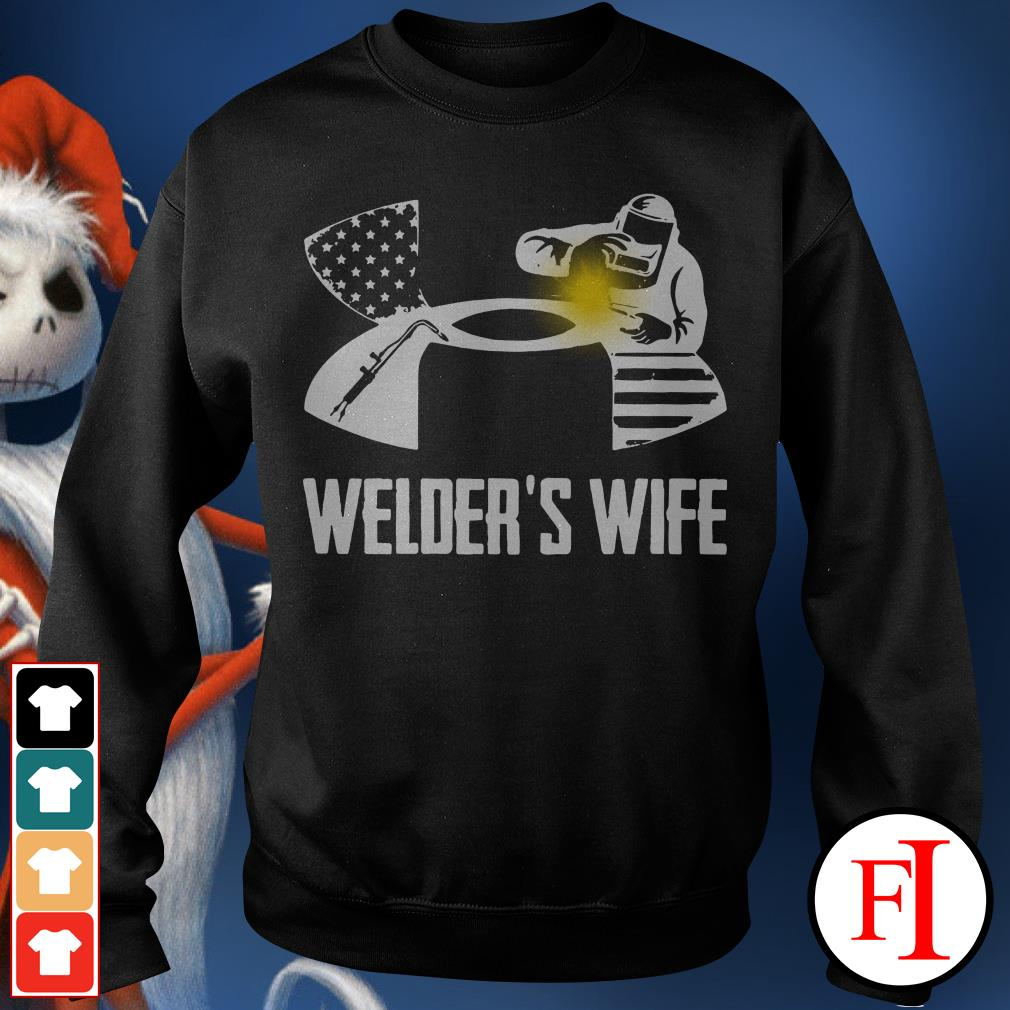 Official Under Armour welder's wife Sweater