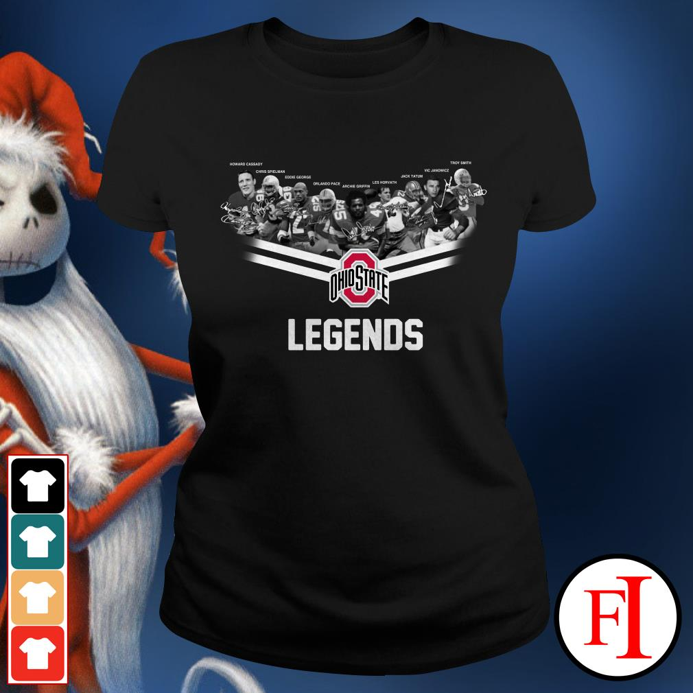Ohio State legends Ladies Tee