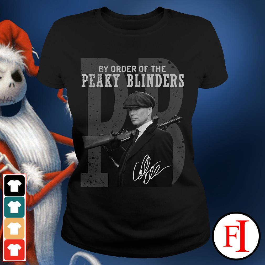 By order of the Peaky Blinders Ladies Tee