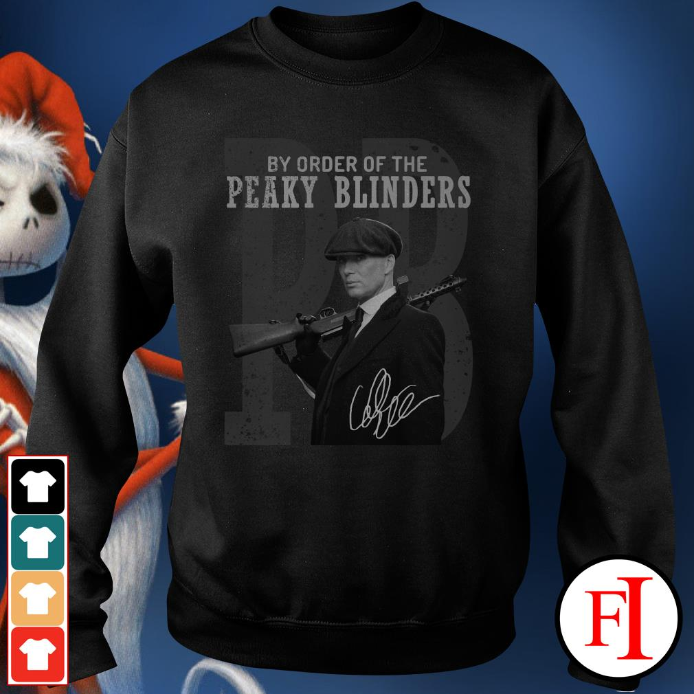 By order of the Peaky Blinders Sweater