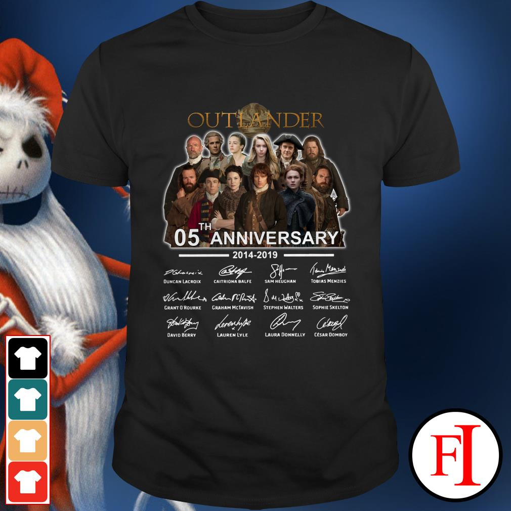 Outlander 05th anniversary 2014-2019 Shirt