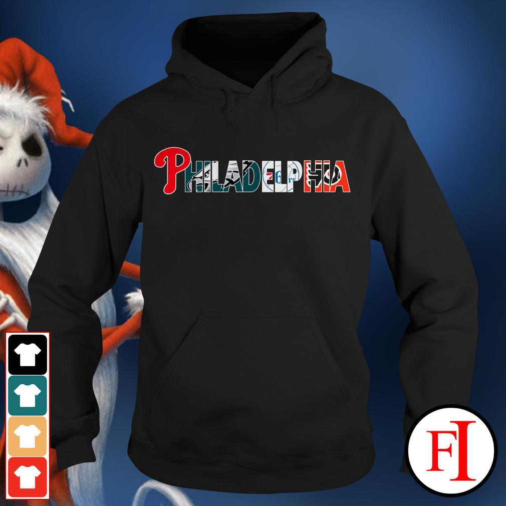 Philadelphia 76ers and Philadelphia Flyers PHILADELPHIA Philadelphia Phillies Philadelphia Eagles Hoodie