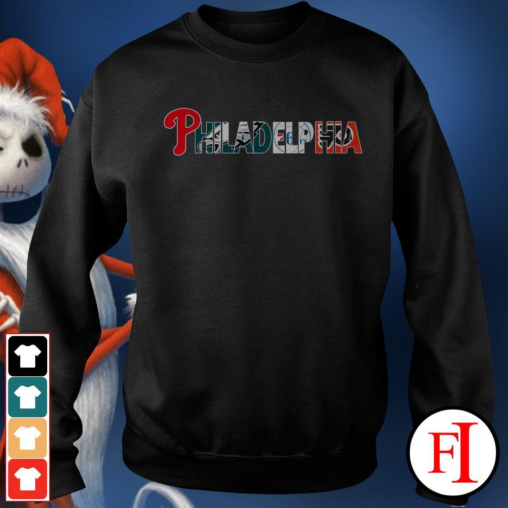 Philadelphia 76ers and Philadelphia Flyers PHILADELPHIA Philadelphia Phillies Philadelphia Eagles Sweater