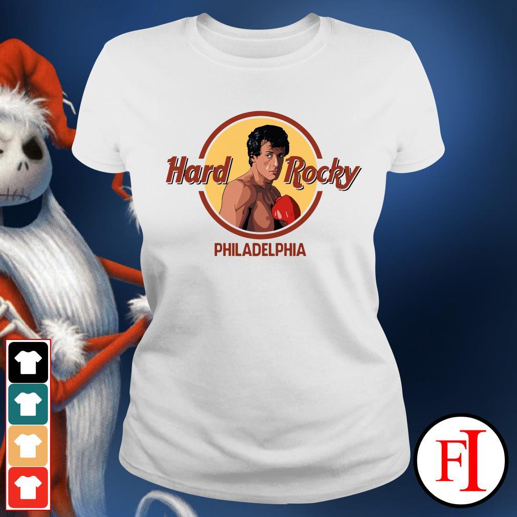 Philadelphia Hard Rocky Ladies Tee