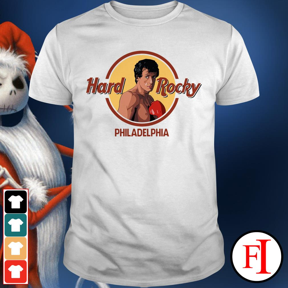 Philadelphia Hard Rocky Shirt