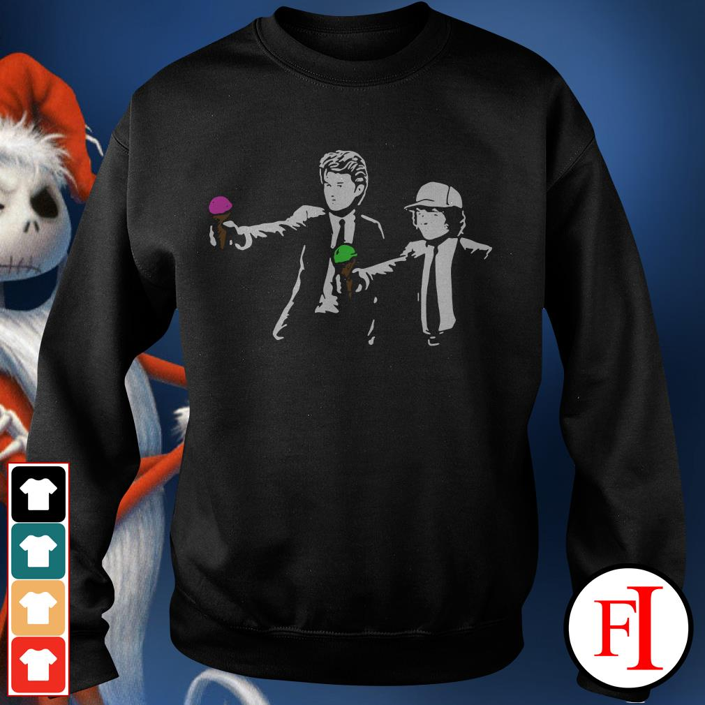 Pulp Fiction Steve and Dustin Stranger Things Sweater