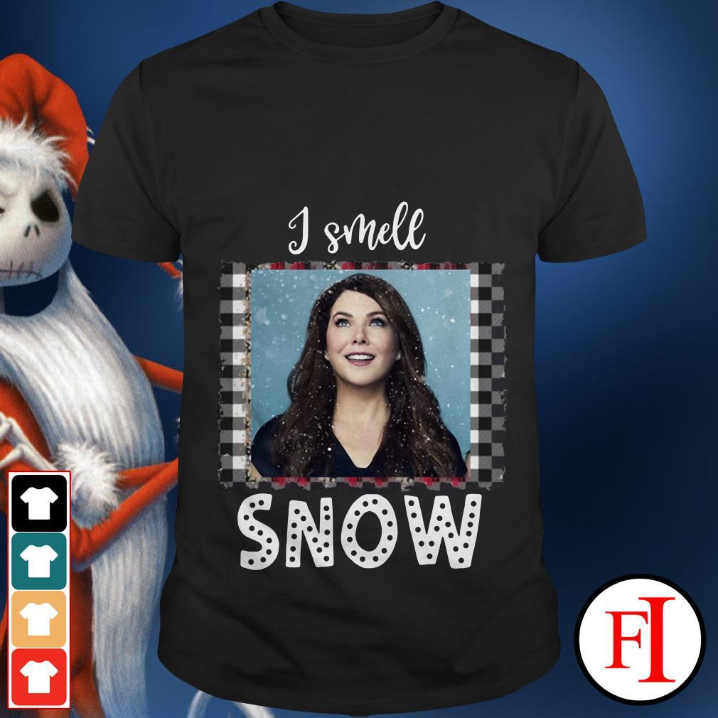 I smell snow Christmas Gilmore Girls Lorelai shirt