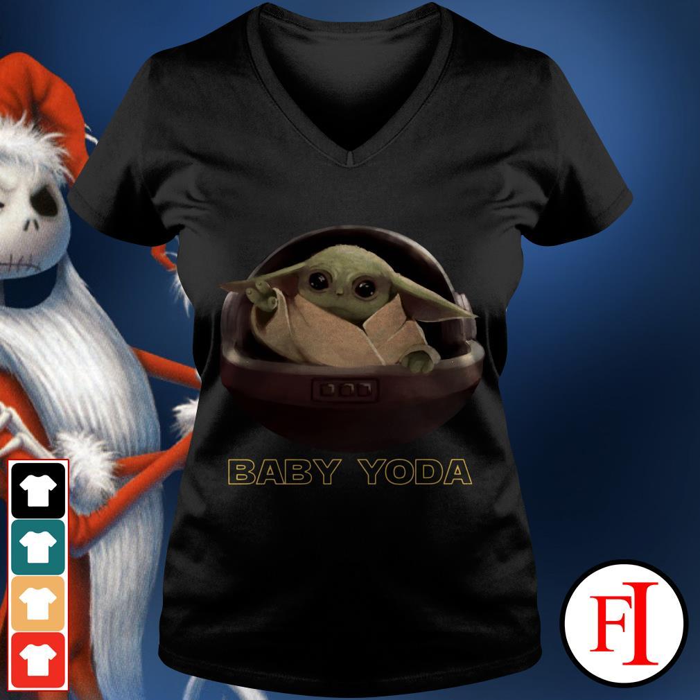 Star Wars Baby Yoda V-neck t-shirt