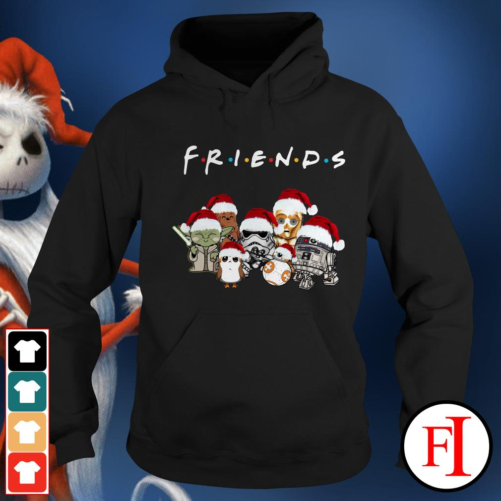 Star Wars chibi characters Christmas Friends Hoodie