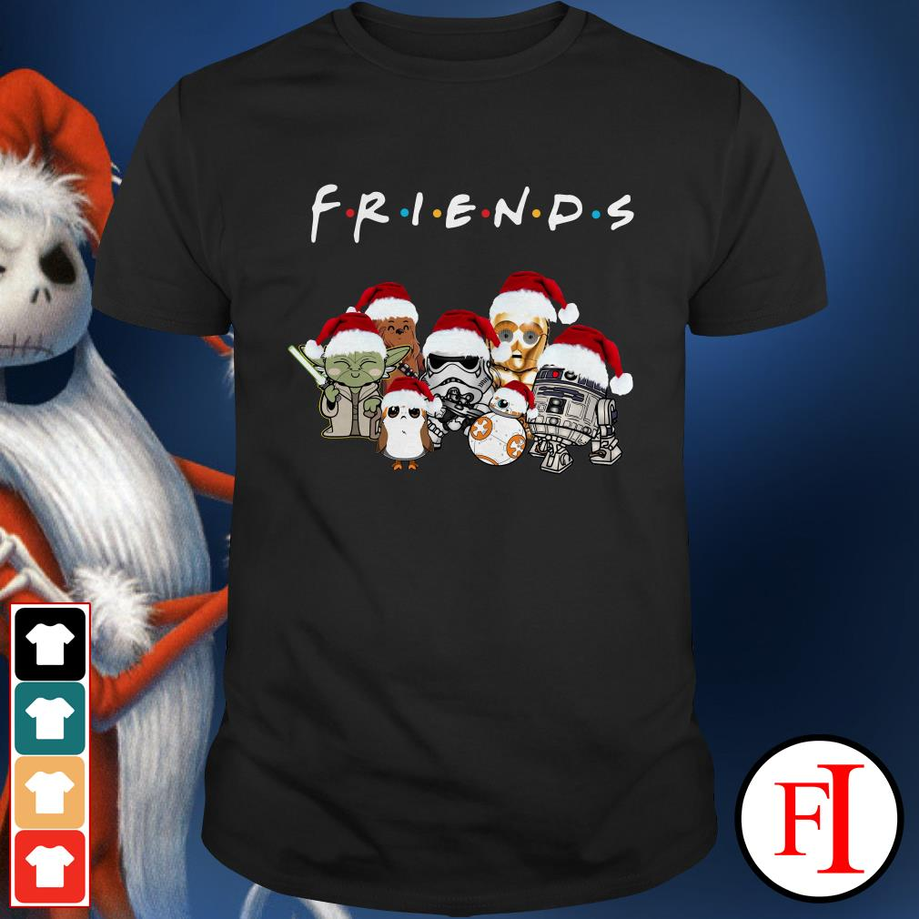 Star Wars chibi characters Christmas Friends Shirt