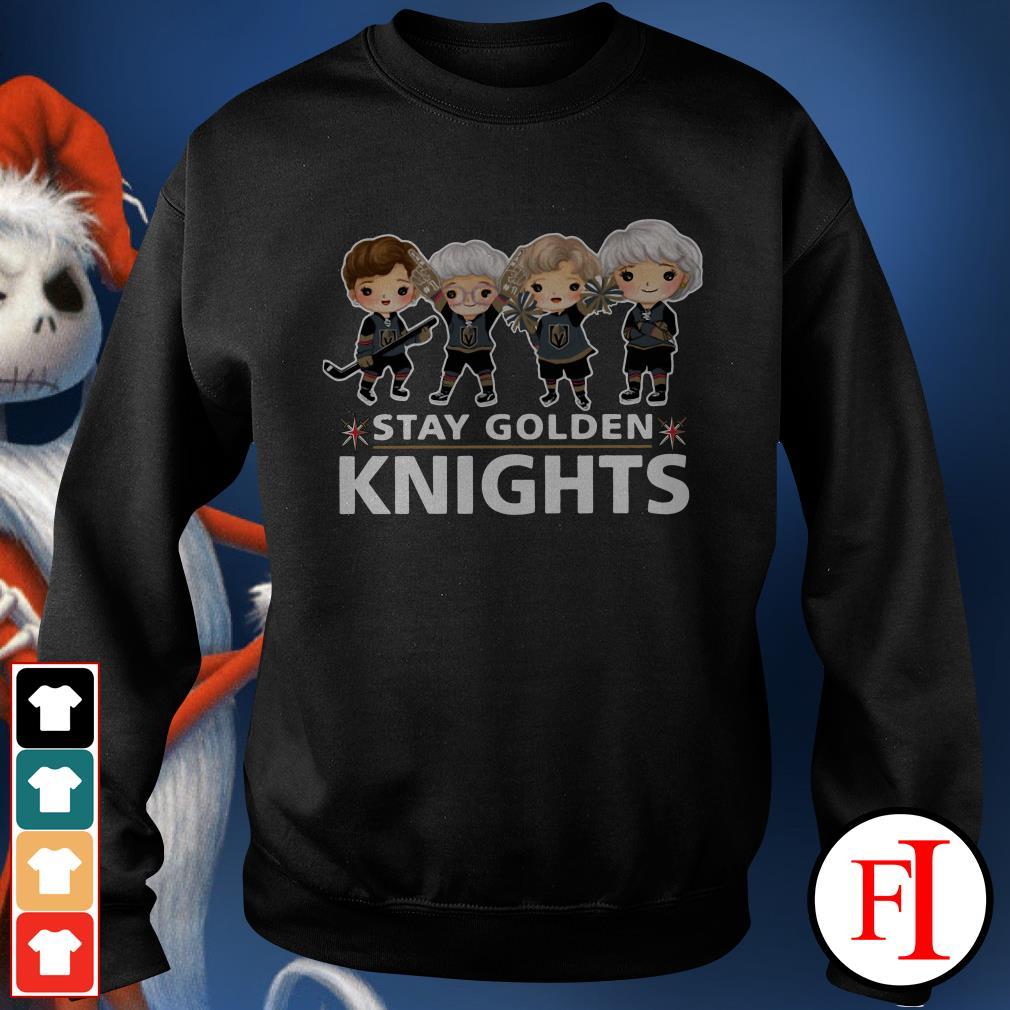 Stay Golden Knights Vegas Golden Knights The Golden Girls Sweater