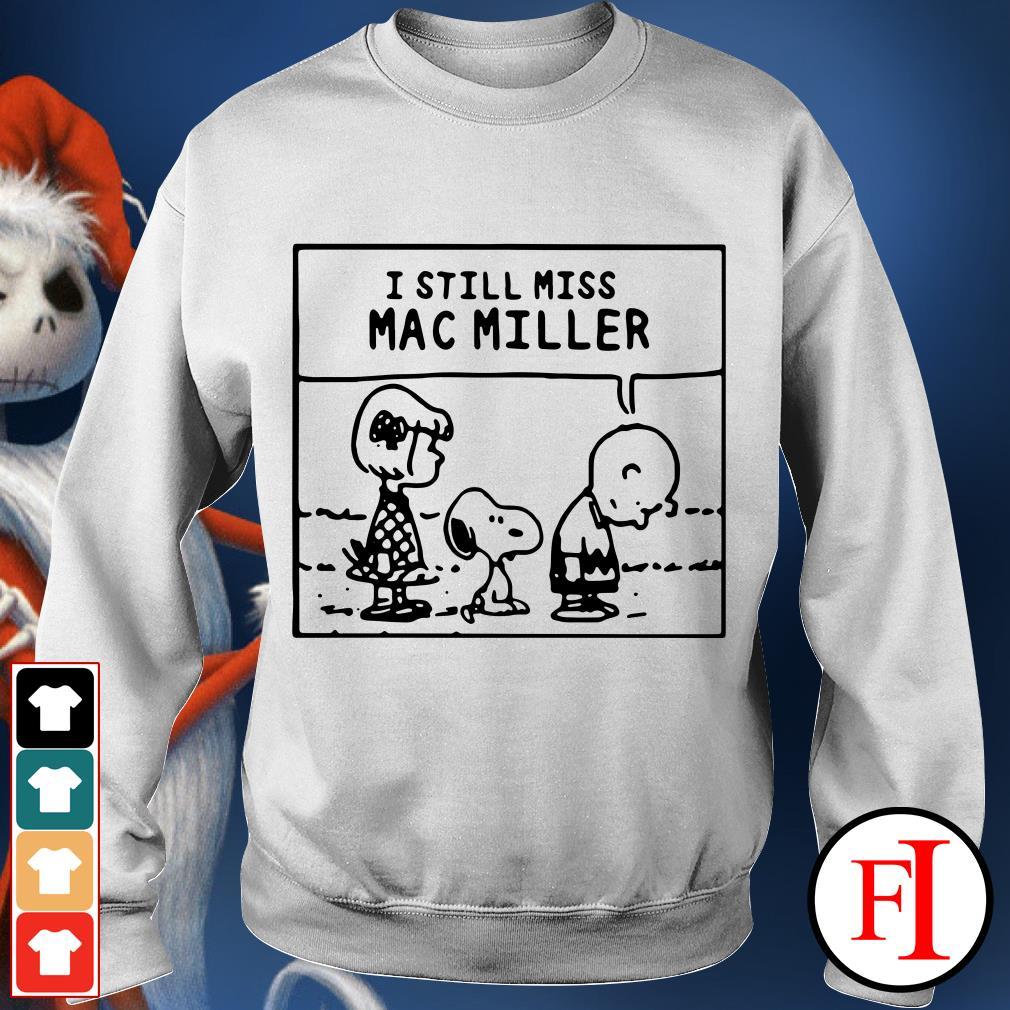 I Still Miss Mac Miller Peanuts Snoopy Sweater