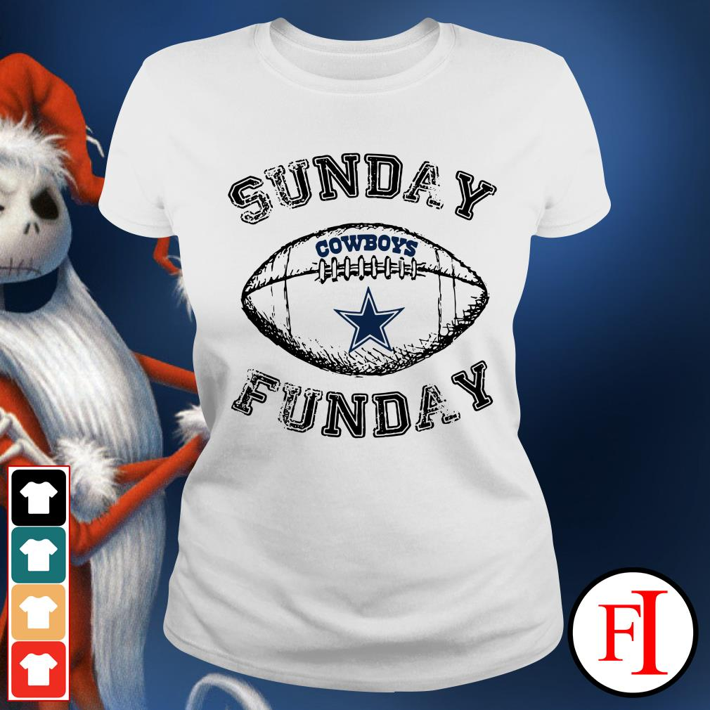 Sunday funday Dallas Cowboys Ladies Tee