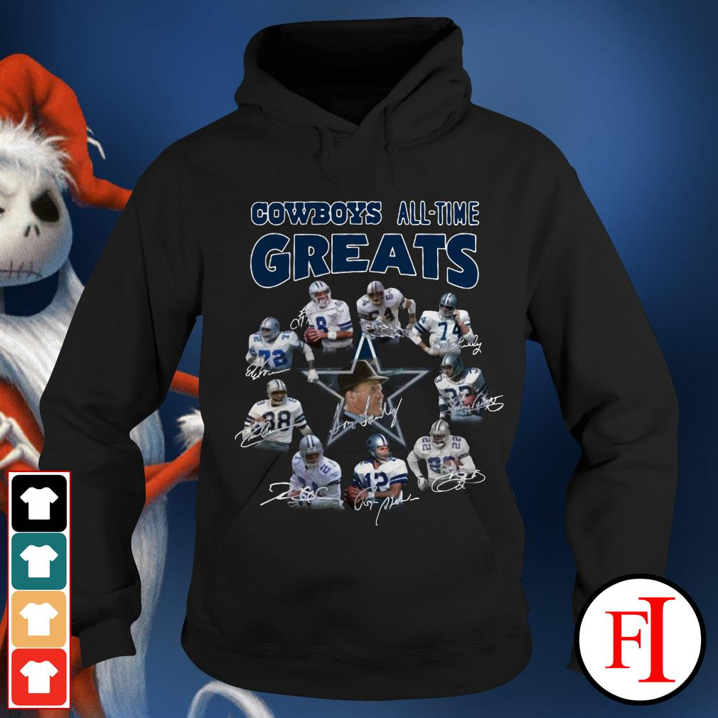 The Dallas Cowboys all-time greats Hoodie