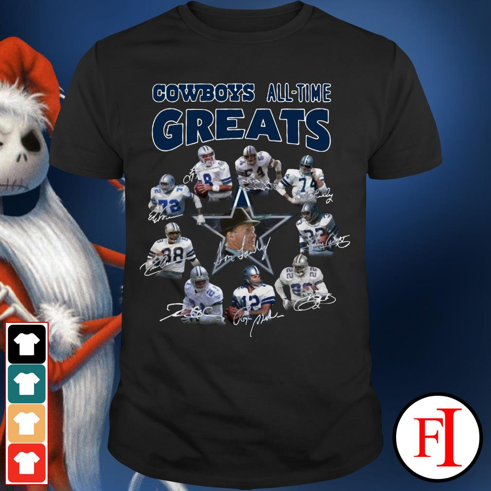 The Dallas Cowboys all-time greats Shirt