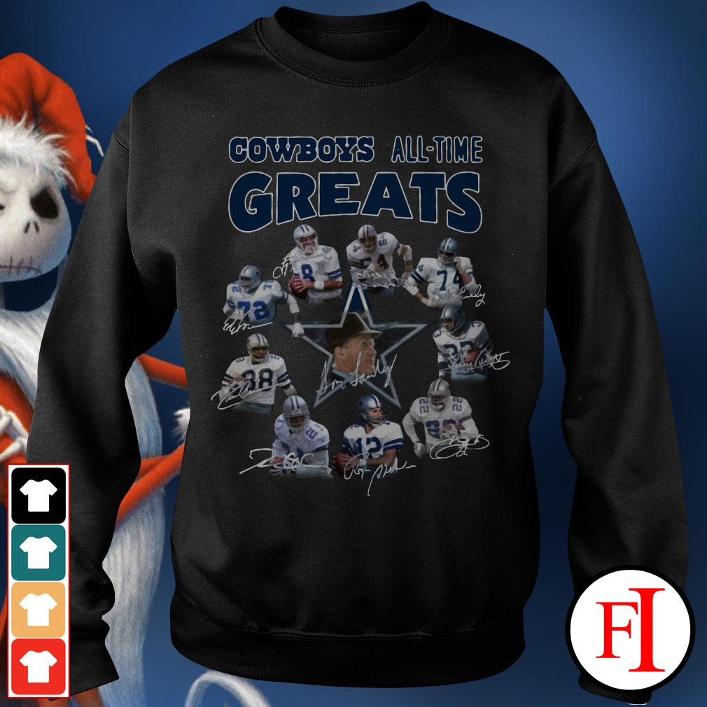The Dallas Cowboys all-time greats Sweater