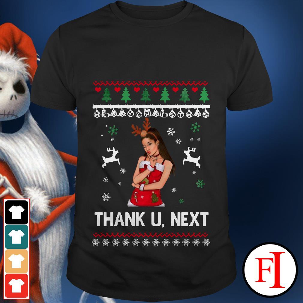 Ugly Christmas Ariana Grande thank u-next shirt