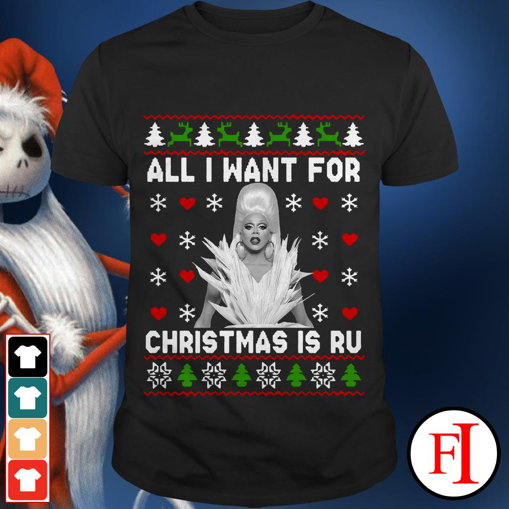 All I want for Christmas is Ru Paul's Drag Race sunset shirt