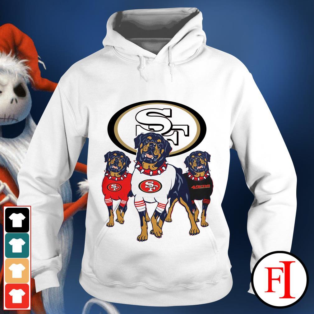 49ers Rottweiler San Francisco Hoodie