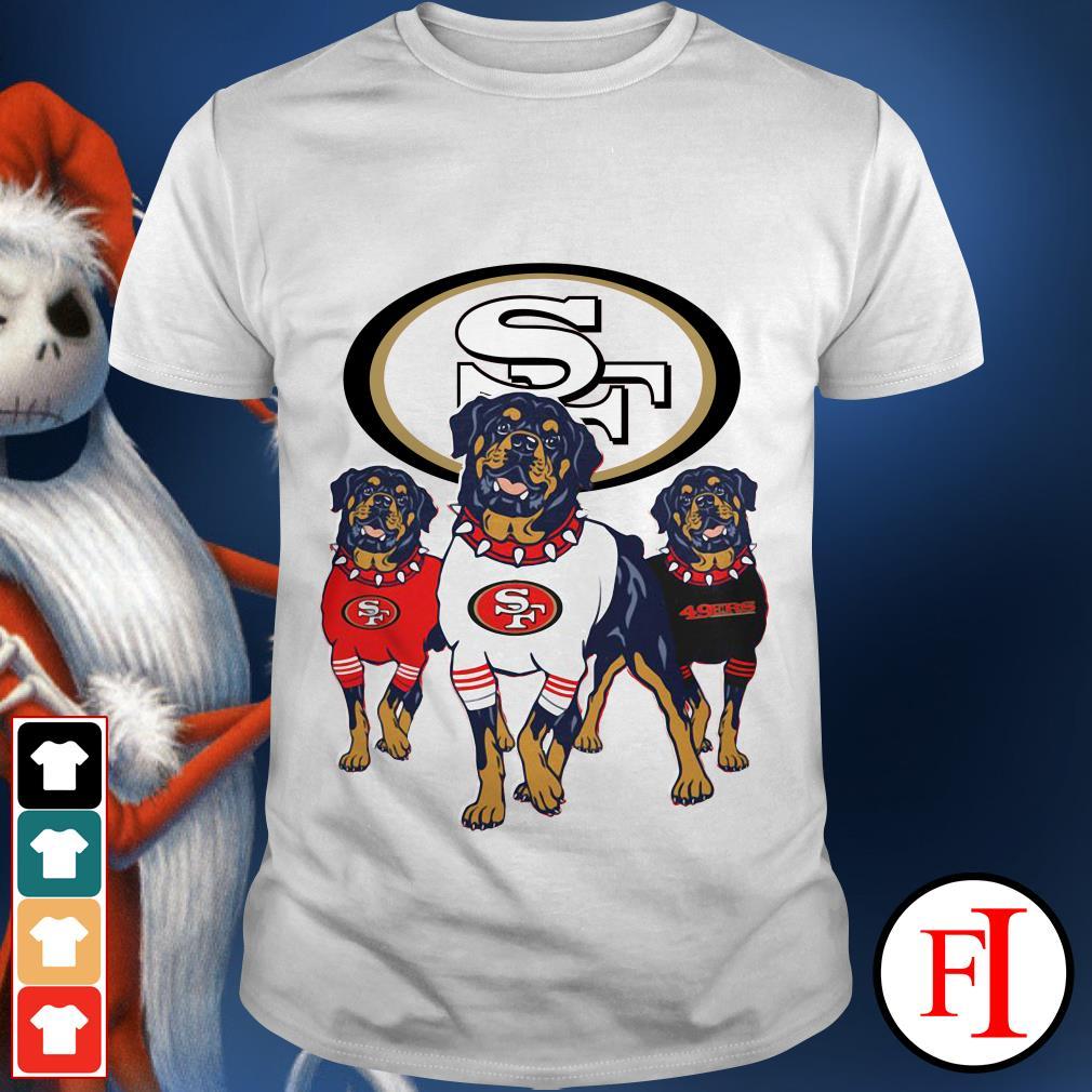 49ers Rottweiler San Francisco shirt