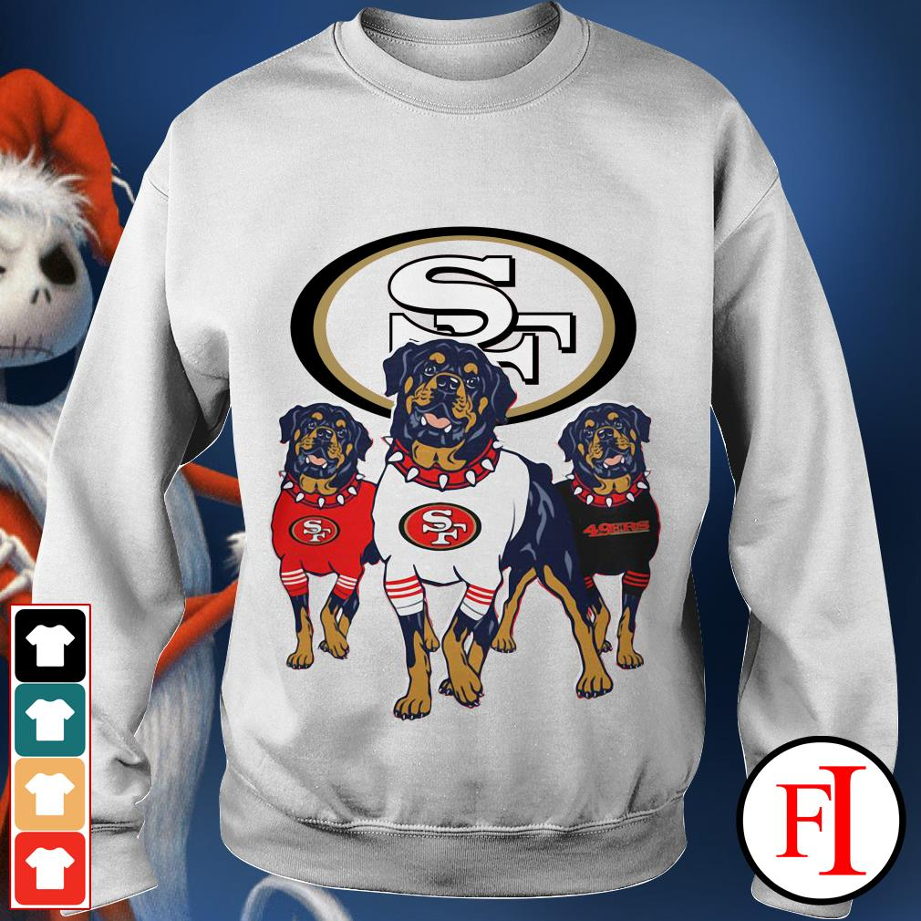 49ers Rottweiler San Francisco Sweater