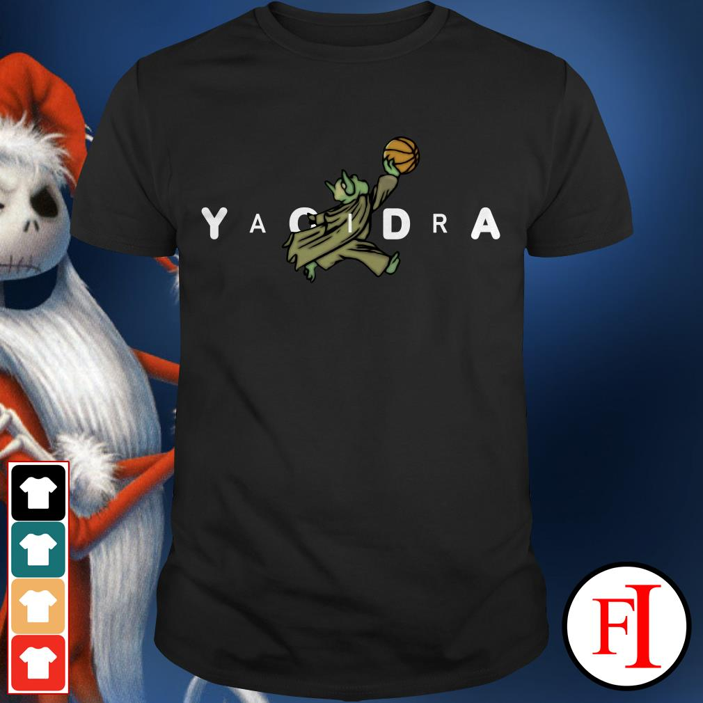 Air Jordan Yoda Yaoidra Jumpman shirt