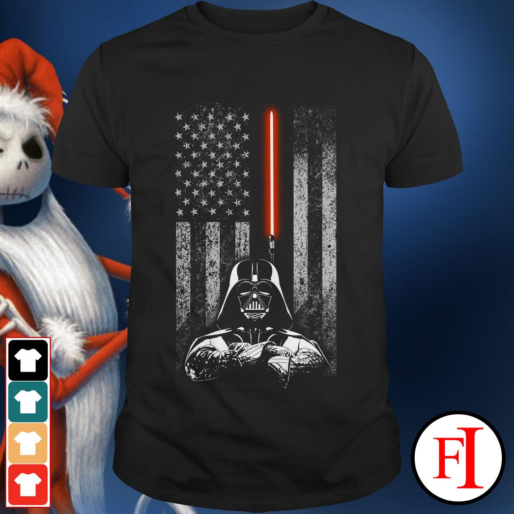 American flag Star Wars Darth Vader shirt