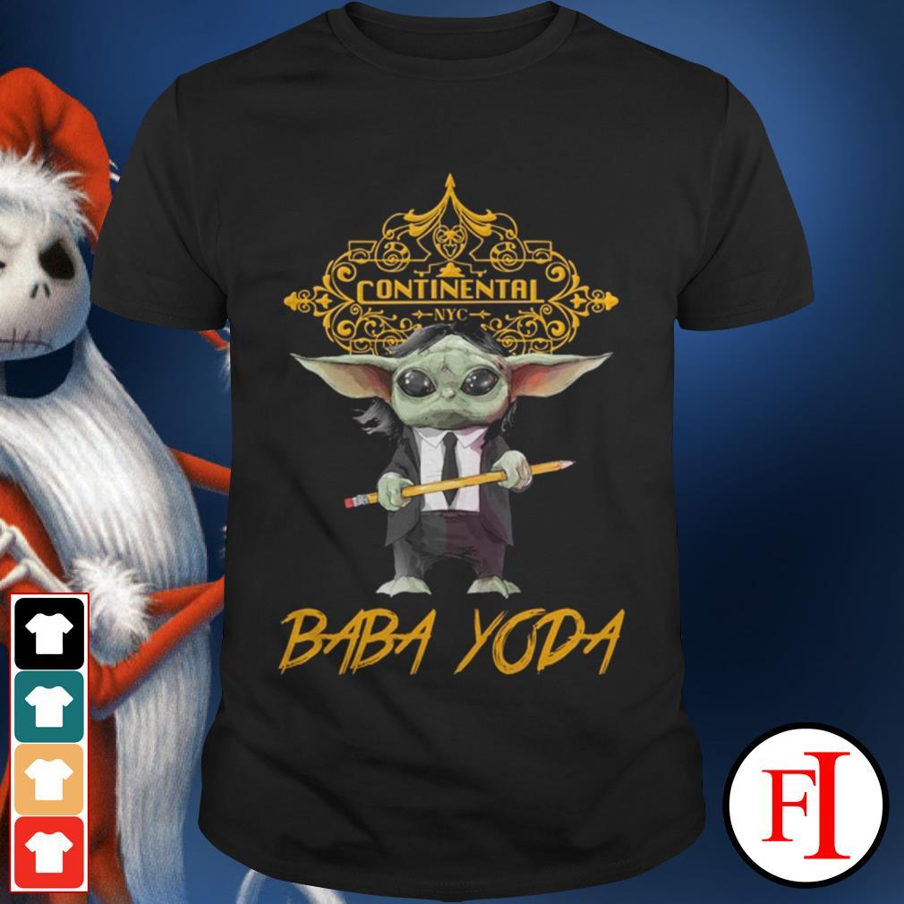 Baba Yoda John Wick Continental NYC shirt
