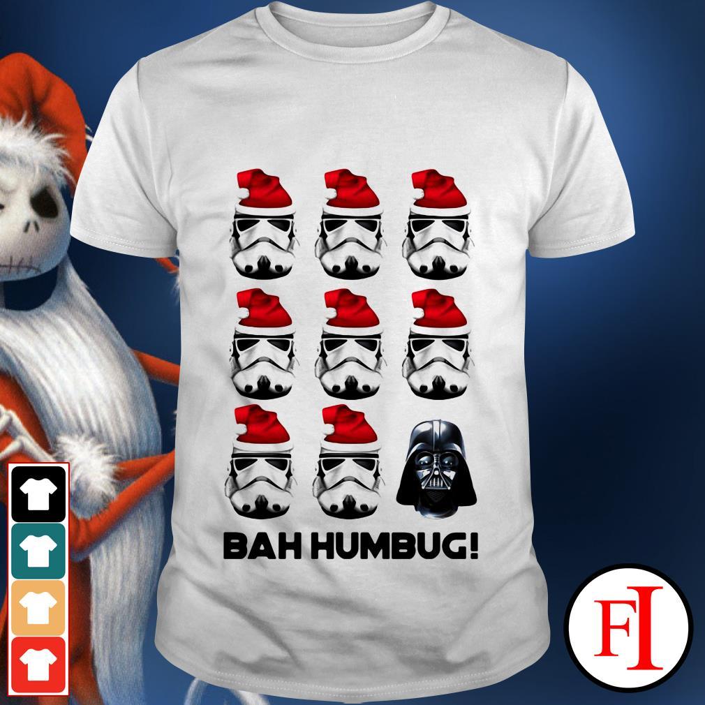 Bah Humbug Stormtrooper Santa Darth Vader shirt