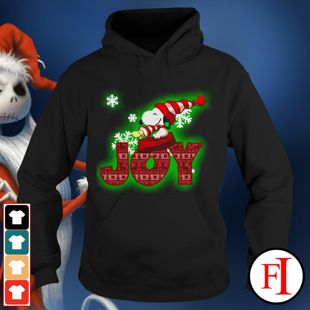 Christmas Snoopy and Woodstock Joy Hoodie