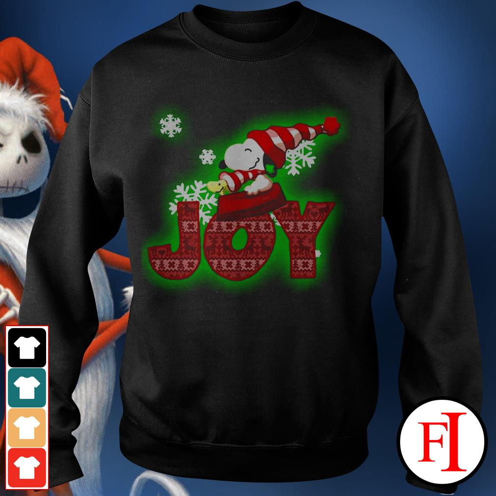 Christmas Snoopy and Woodstock Joy Sweater