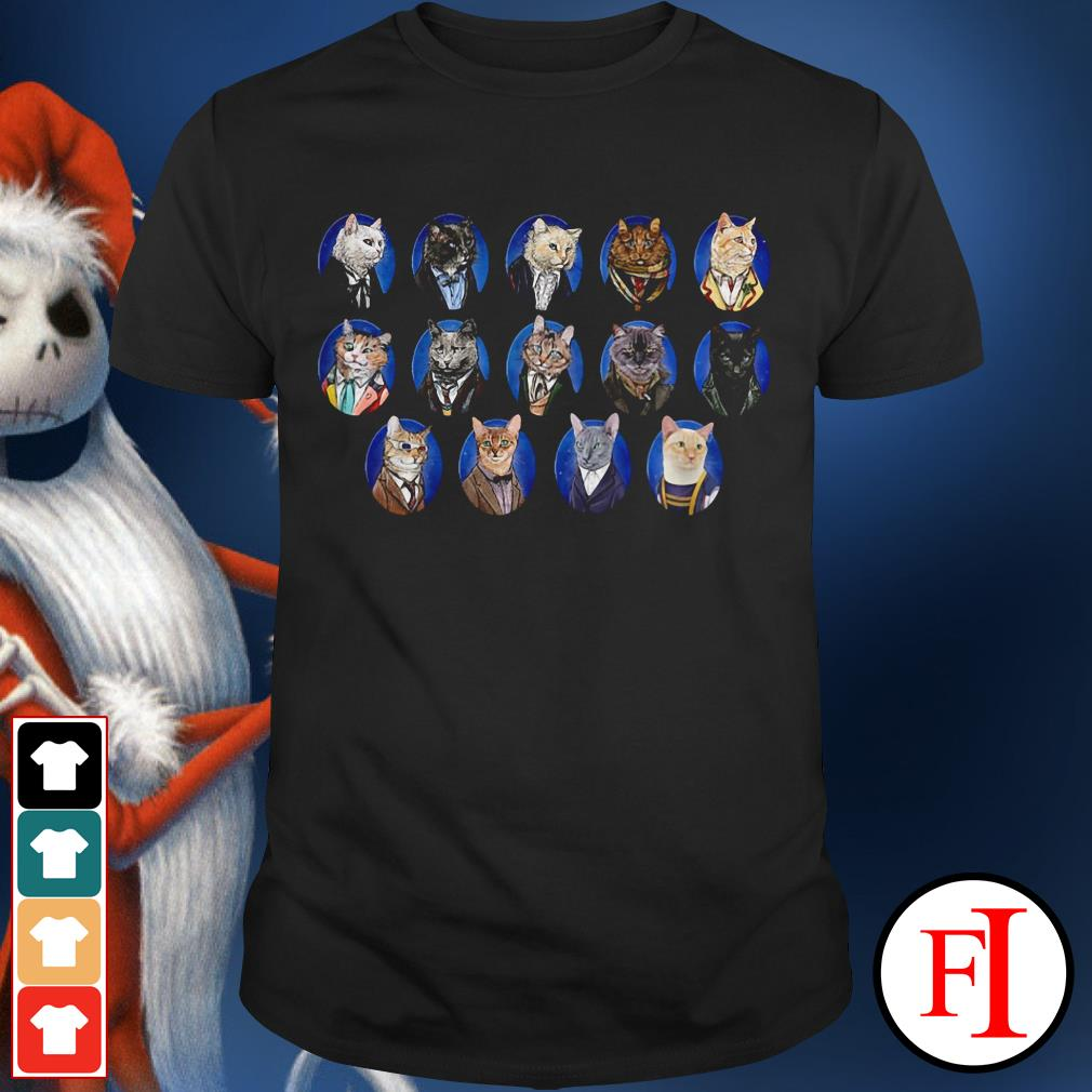 Doctor Cats Doctor Who shirt