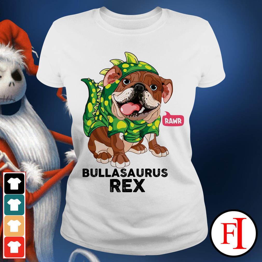 Dog Rawr Bulbasaurus Rex Ladies tee
