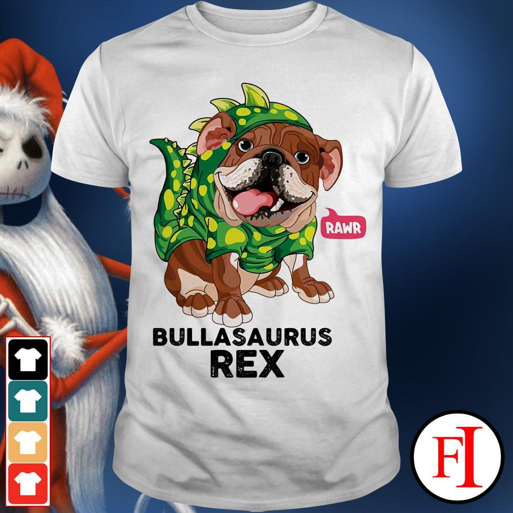 Dog Rawr Bulbasaurus Rex shirt