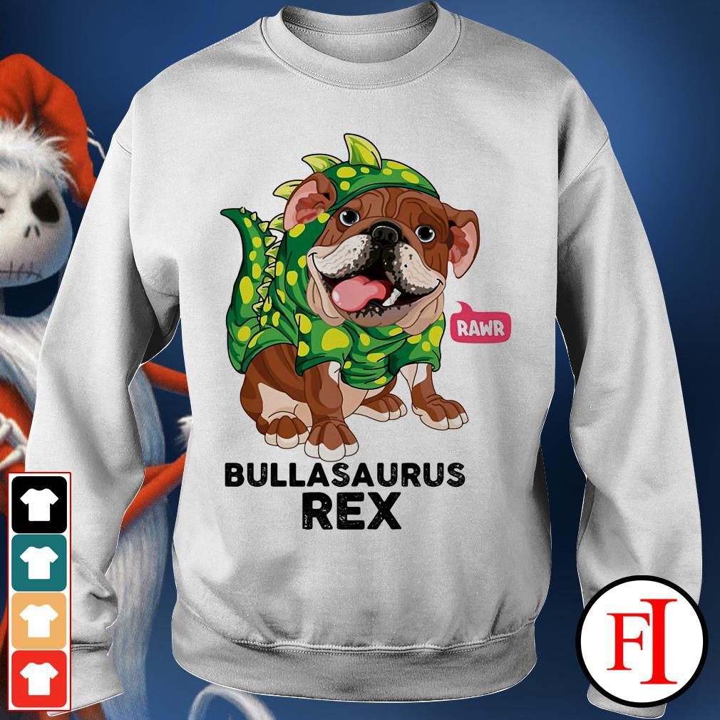 Dog Rawr Bulbasaurus Rex Sweater